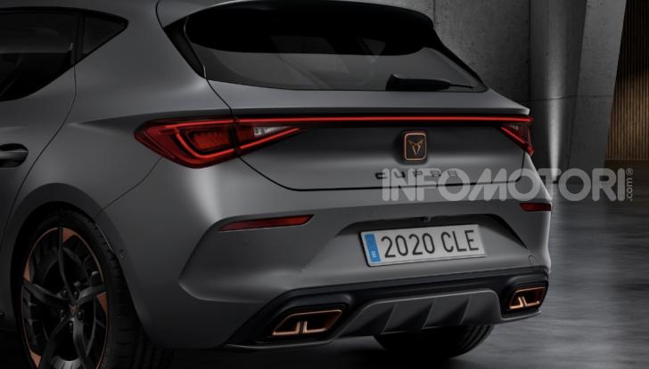 Cupra Leon 2020: look e motori da sportiva anche ibrida plug-in - Foto 9 di 11