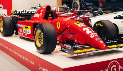 La prima Ferrari da Formula 1 di Michael Schumacher è in vendita