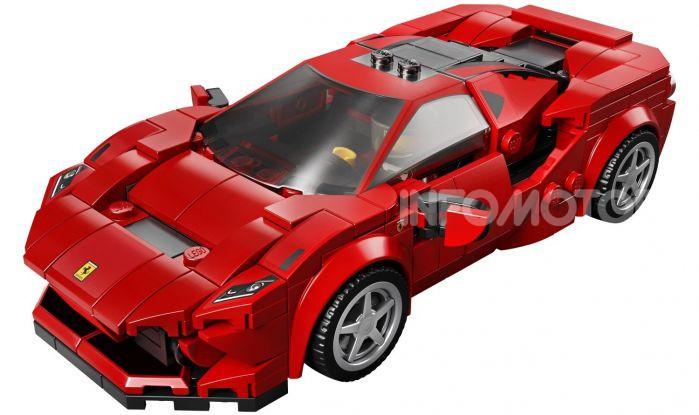 Ferrari F8 Tributo Lego Speed Champions: bolide in miniatura - Foto 2 di 3