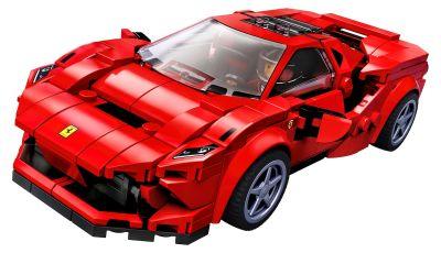 Ferrari F8 Tributo Lego Speed Champions: bolide in miniatura