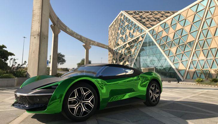 GFG Style 2030, il SUV elettrico super sportivo - Foto 1 di 6
