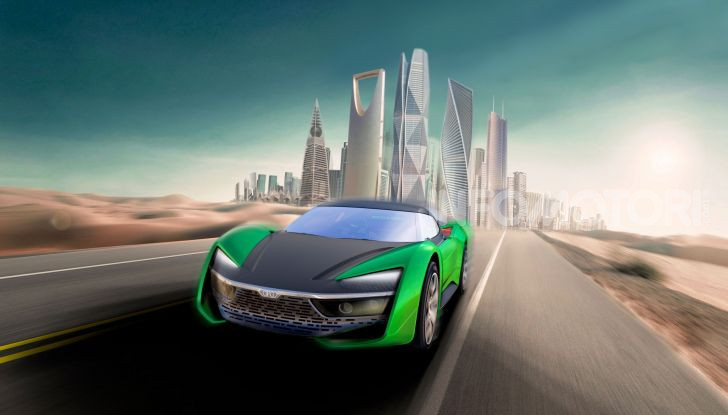 GFG Style 2030, il SUV elettrico super sportivo - Foto 2 di 6
