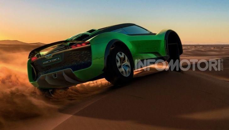 GFG Style 2030, il SUV elettrico super sportivo - Foto 4 di 6