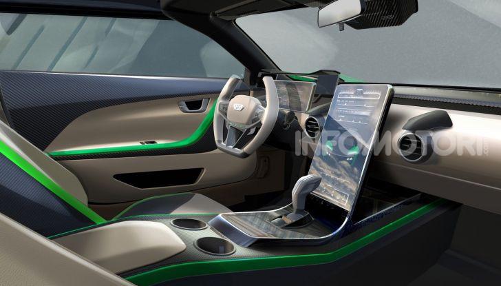 GFG Style 2030, il SUV elettrico super sportivo - Foto 5 di 6