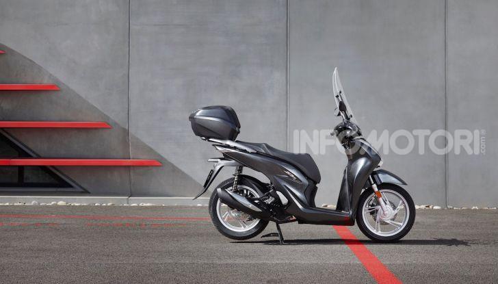 Honda SH 125 e 150i 2020: due cilindrate ma un prezzo unico - Foto 2 di 8