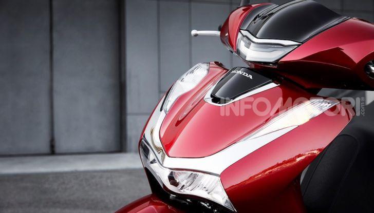 Honda SH 125 e 150i 2020: due cilindrate ma un prezzo unico - Foto 3 di 8