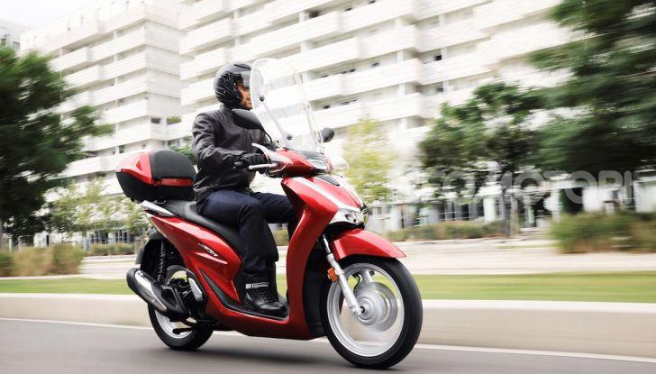 Honda SH 125 e 150i 2020: due cilindrate ma un prezzo unico - Foto 7 di 8