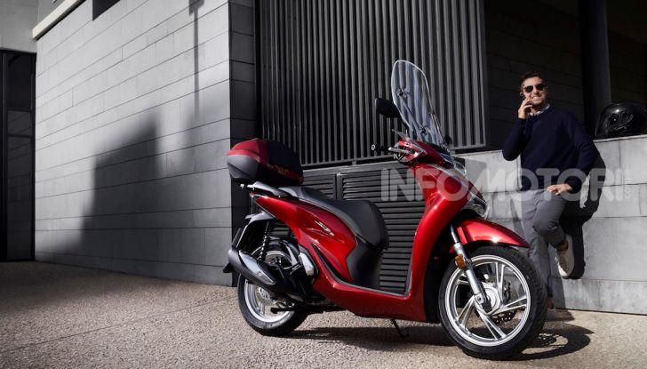 Honda SH 125 e 150i 2020: due cilindrate ma un prezzo unico - Foto 8 di 8