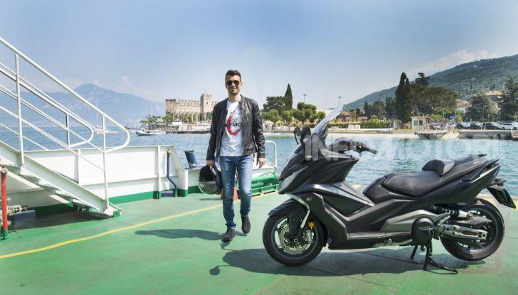 Kymco AK 550 ABS MY 2020: il maxi scooter ancora più potente e tecnologico - Foto 11 di 11