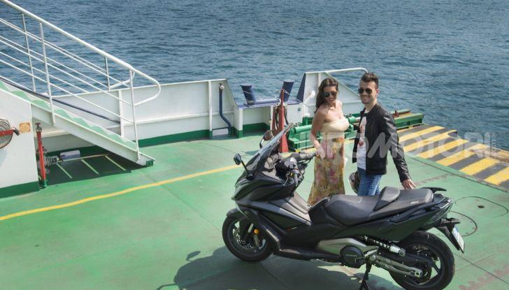 Kymco AK 550 ABS MY 2020: il maxi scooter ancora più potente e tecnologico - Foto 8 di 11