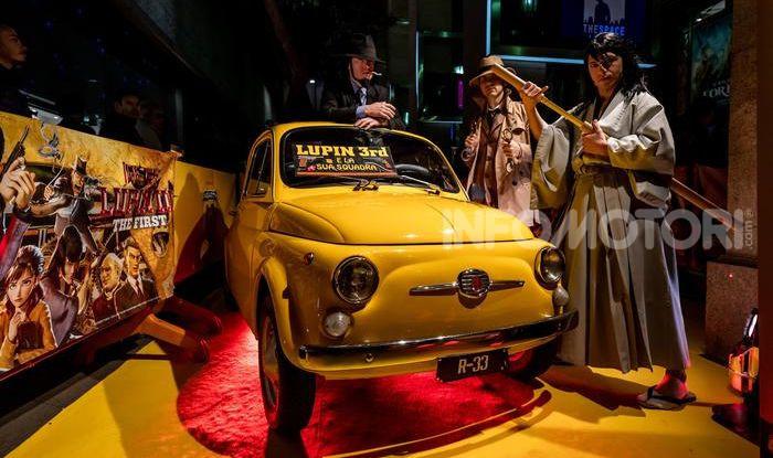 Film: Lupin III – The First con una Abarth 595 Turismo - Foto 2 di 4