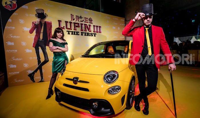 Film: Lupin III – The First con una Abarth 595 Turismo - Foto 4 di 4