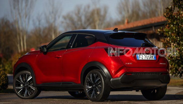 Prova su strada Nissan Juke 2020, più convenzionale e tecnologica - Foto 12 di 23