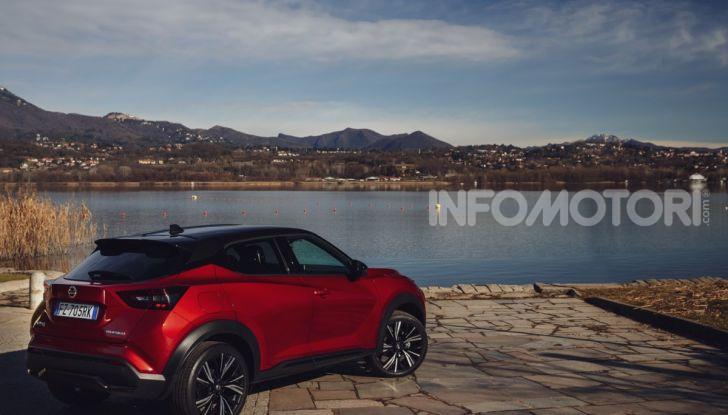 Prova su strada Nissan Juke 2020, più convenzionale e tecnologica - Foto 14 di 23