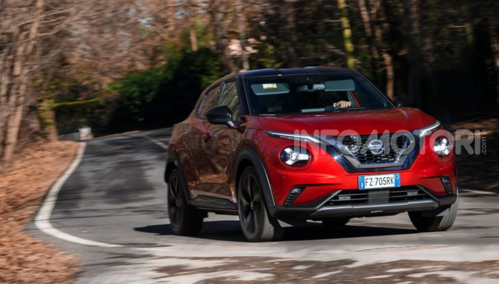 Prova su strada Nissan Juke 2020, più convenzionale e tecnologica - Foto 1 di 23