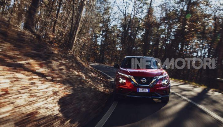 Prova su strada Nissan Juke 2020, più convenzionale e tecnologica - Foto 19 di 23