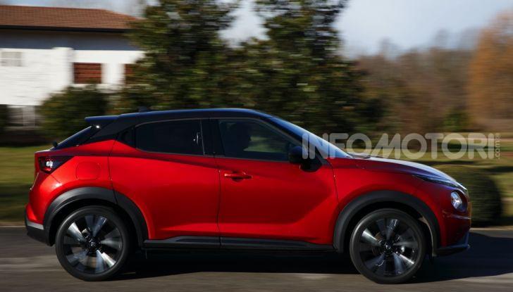Prova su strada Nissan Juke 2020, più convenzionale e tecnologica - Foto 8 di 23