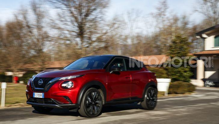 Prova su strada Nissan Juke 2020, più convenzionale e tecnologica - Foto 9 di 23