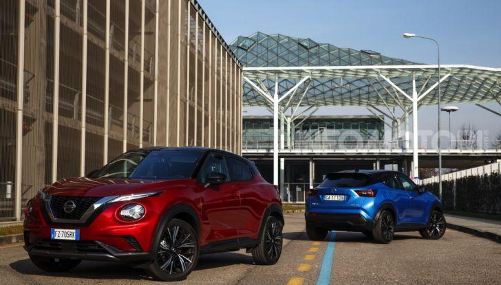 Prova su strada Nissan Juke 2020, più convenzionale e tecnologica - Foto 4 di 23