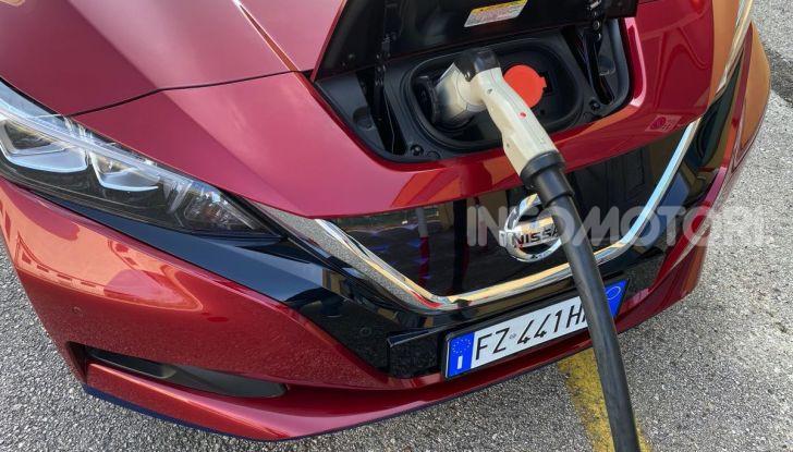 Nissan Leaf e+ 62 kWh prova su strada: prestazioni, autonomia e prezzi - Foto 6 di 37