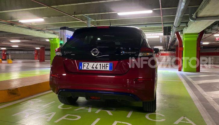 Nissan Leaf e+ 62 kWh prova su strada: prestazioni, autonomia e prezzi - Foto 13 di 37