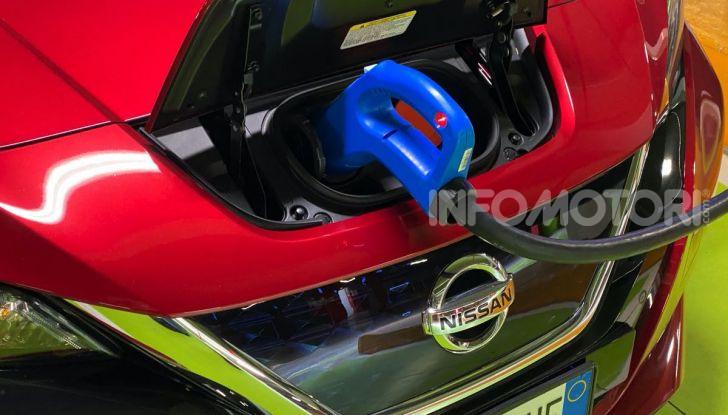 Nissan Leaf e+ 62 kWh prova su strada: prestazioni, autonomia e prezzi - Foto 14 di 37