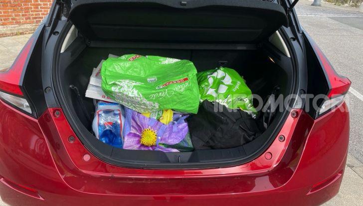 Nissan Leaf e+ 62 kWh prova su strada: prestazioni, autonomia e prezzi - Foto 16 di 37
