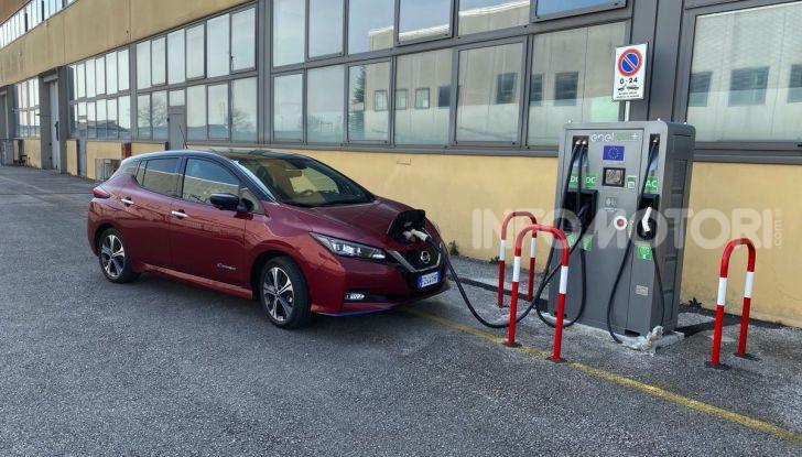Nissan Leaf e+ 62 kWh prova su strada: prestazioni, autonomia e prezzi - Foto 19 di 37