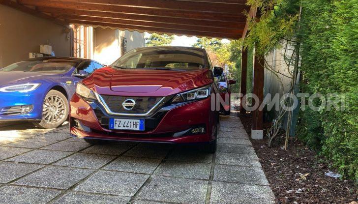 Nissan Leaf e+ 62 kWh prova su strada: prestazioni, autonomia e prezzi - Foto 20 di 37