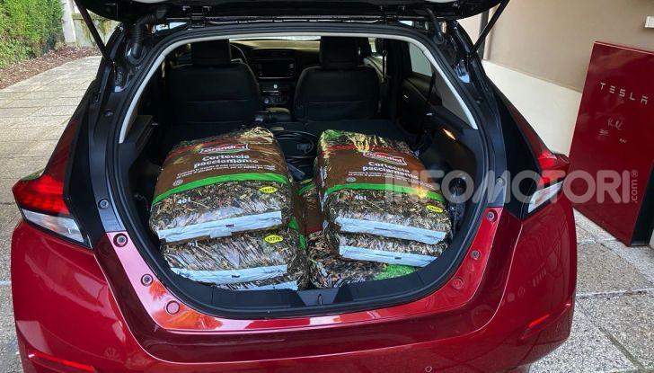 Nissan Leaf e+ 62 kWh prova su strada: prestazioni, autonomia e prezzi - Foto 21 di 37