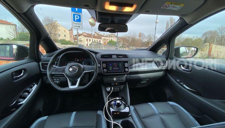 Nissan Leaf e+ 62 kWh prova su strada: prestazioni, autonomia e prezzi - Foto 22 di 37