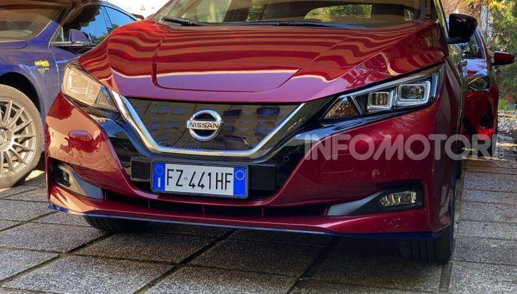Nissan Leaf e+ 62 kWh prova su strada: prestazioni, autonomia e prezzi - Foto 3 di 37