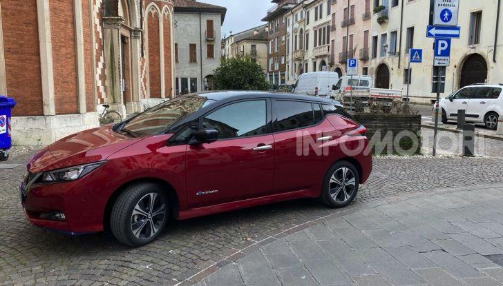 Nissan Leaf e+ 62 kWh prova su strada: prestazioni, autonomia e prezzi - Foto 23 di 37