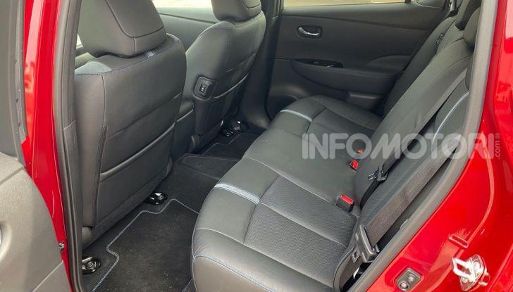 Nissan Leaf e+ 62 kWh prova su strada: prestazioni, autonomia e prezzi - Foto 25 di 37