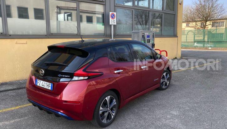 Nissan Leaf e+ 62 kWh prova su strada: prestazioni, autonomia e prezzi - Foto 26 di 37