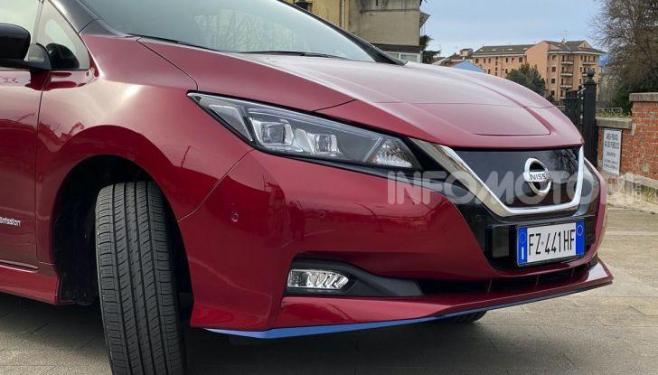 Nissan Leaf e+ 62 kWh prova su strada: prestazioni, autonomia e prezzi - Foto 29 di 37