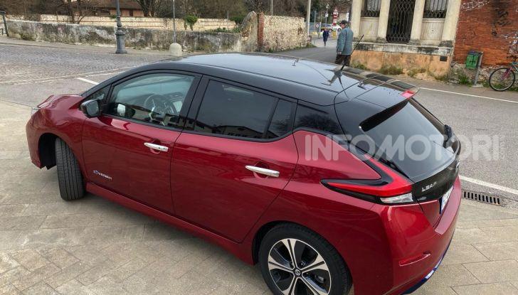 Nissan Leaf e+ 62 kWh prova su strada: prestazioni, autonomia e prezzi - Foto 30 di 37