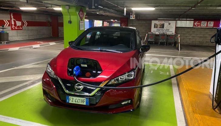 Nissan Leaf e+ 62 kWh prova su strada: prestazioni, autonomia e prezzi - Foto 8 di 37