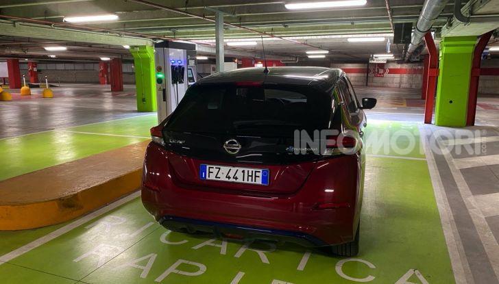 Nissan Leaf e+ 62 kWh prova su strada: prestazioni, autonomia e prezzi - Foto 31 di 37