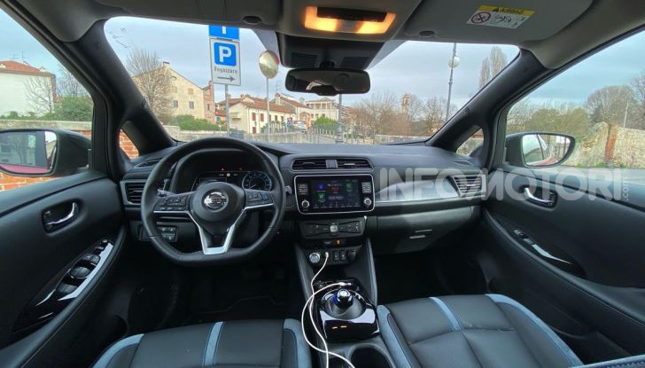 Nissan Leaf e+ 62 kWh prova su strada: prestazioni, autonomia e prezzi - Foto 33 di 37