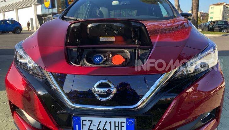 Nissan Leaf e+ 62 kWh prova su strada: prestazioni, autonomia e prezzi - Foto 34 di 37