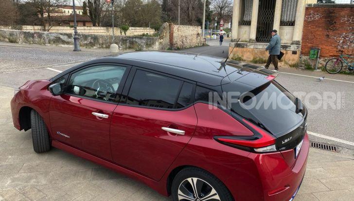 Nissan Leaf e+ 62 kWh prova su strada: prestazioni, autonomia e prezzi - Foto 35 di 37