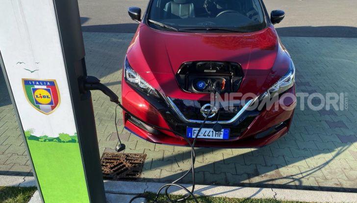 Nissan Leaf e+ 62 kWh prova su strada: prestazioni, autonomia e prezzi - Foto 36 di 37