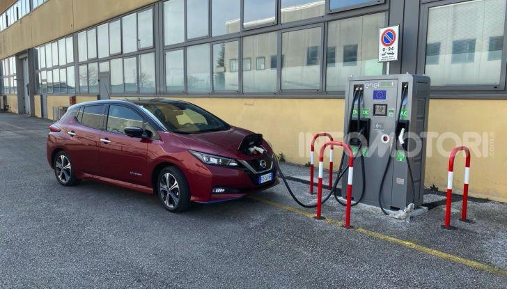 Nissan Leaf e+ 62 kWh prova su strada: prestazioni, autonomia e prezzi - Foto 37 di 37