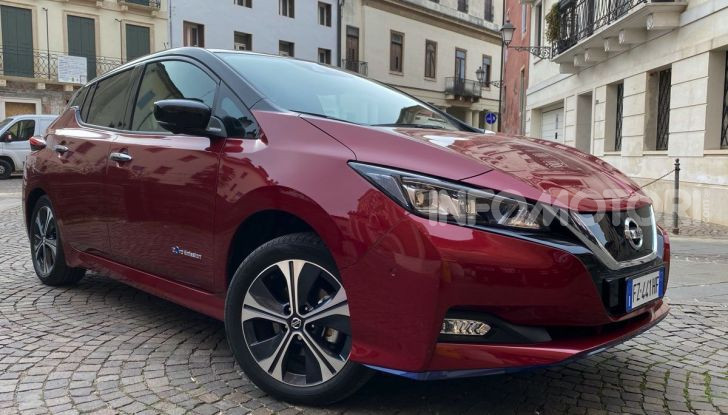 Nissan Leaf e+ 62 kWh prova su strada: prestazioni, autonomia e prezzi - Foto 2 di 37