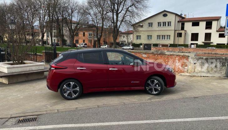 Nissan Leaf e+ 62 kWh prova su strada: prestazioni, autonomia e prezzi - Foto 5 di 37