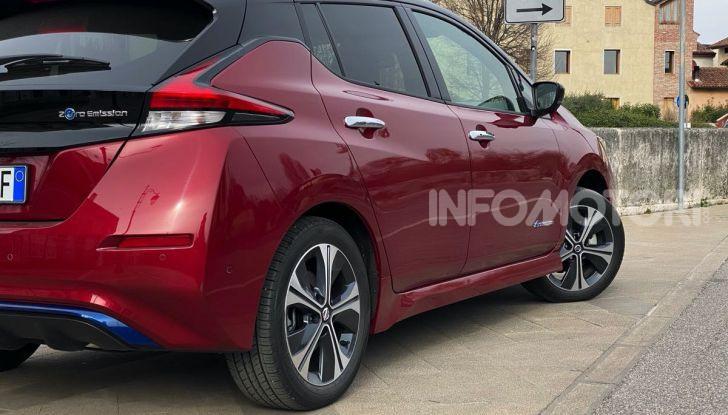 Nissan Leaf e+ 62 kWh prova su strada: prestazioni, autonomia e prezzi - Foto 12 di 37