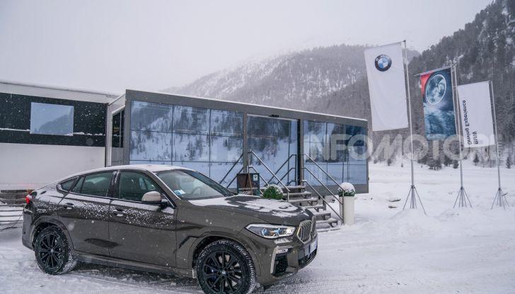 [VIDEO] Il test della nuova BMW X6 2020 sulla neve di Livigno - Foto 25 di 25