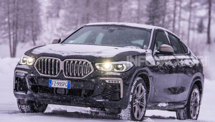 [VIDEO] Il test della nuova BMW X6 2020 sulla neve di Livigno - Foto 12 di 25