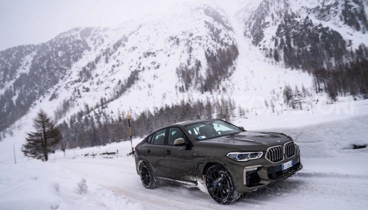 [VIDEO] Il test della nuova BMW X6 2020 sulla neve di Livigno - Foto 14 di 25
